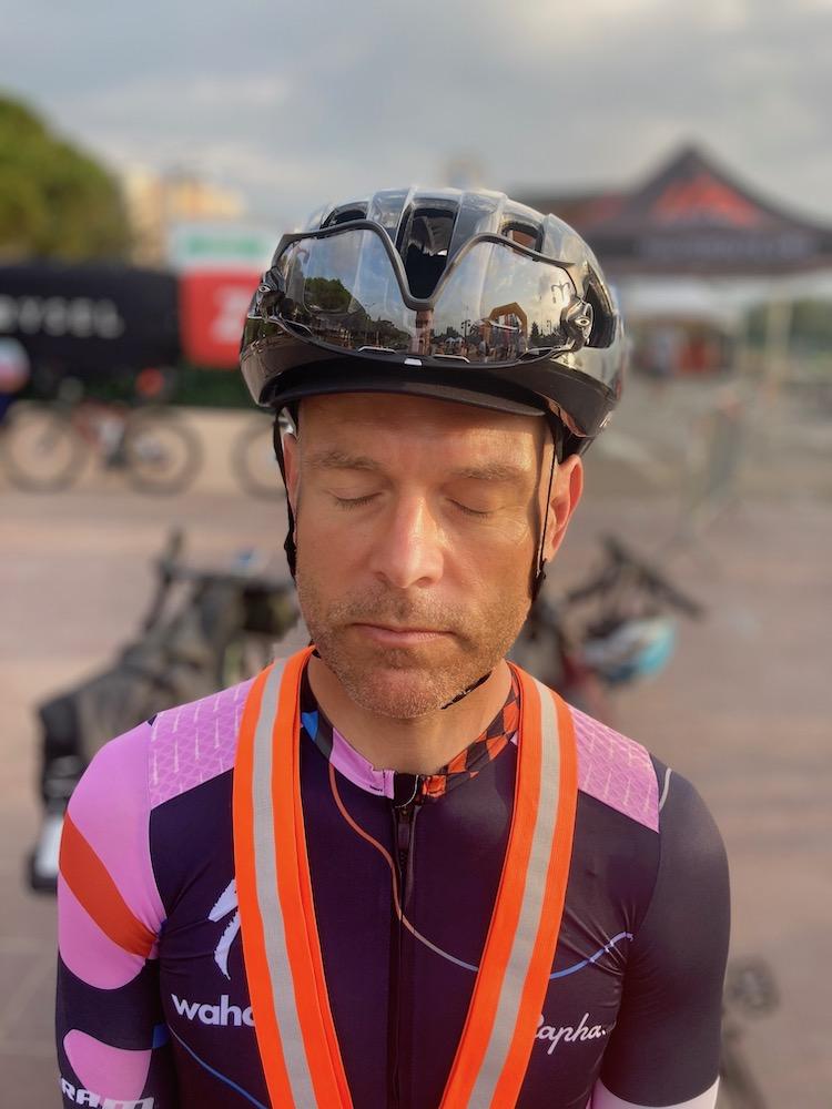 RAF Ultra cyclisme : William David au départ